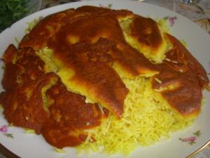 Сюзме аш или откидной плов-в газане(азербайджанская кухня) - 2