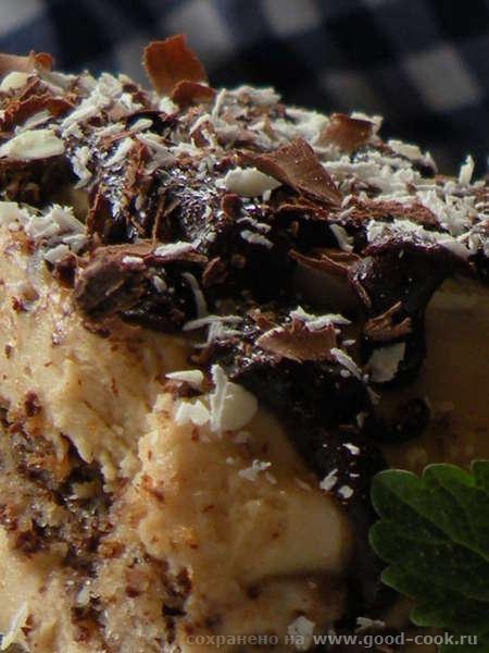 ШОКОЛАДНЫЙ БИСКВИТ С БАНАНАМИ ПОТРЕБУЕТСЯ: 500гр горького шоколада 4 яйца 375 гр сахара 125 гр муки... - 4