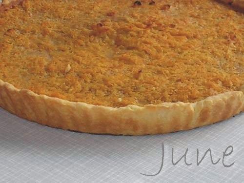 Пирог с тыквой и корицей Продукты (на 12 порций): для теста: 200г муки, 125 г сливочного масла, 1 с...