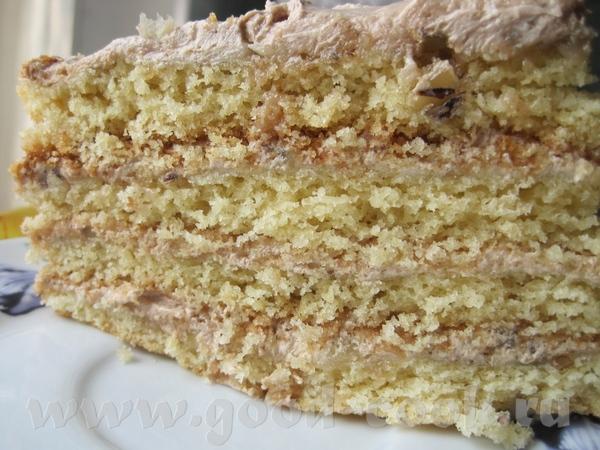 Наташа спасибо за такой вкусный торт ТОРТ ПО-КИЕВСКИ