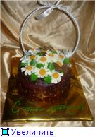 торт корзинка белых цветов торт корзина ромашек - 4
