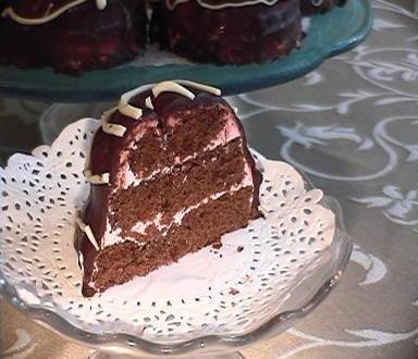 Шоколадно-малиновые пирожные oт Мишель - 2