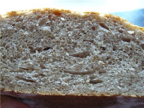Простой, вкусный и довольно быстрый в приготовлении хлеб
