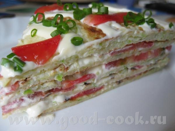 Кабачковый торт - 2