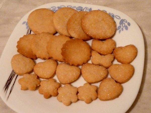 Печенье Сахарное Ингредиенты 300г сметаны (10-25%) 200г масла 200г сахара 600-650г муки 2ч