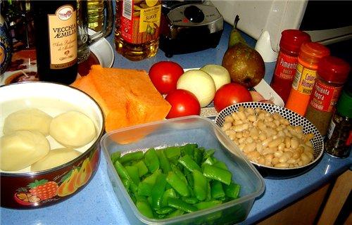 OLLA GITANA MURCIANA ЦЫГАНСКИЙ КОТЕЛОК Это типичное блюдо мурсианского региона и юга Аликанте - 2