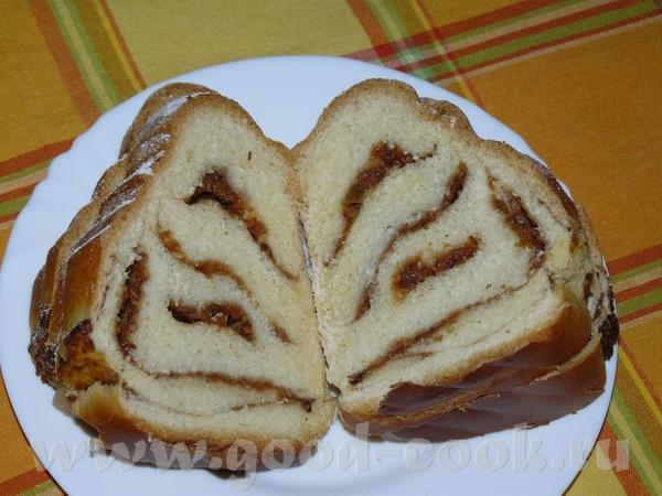 От псевдо-фаршированой тыквы ещё осталось порядком, поэтому решила сделать этот пирог, т