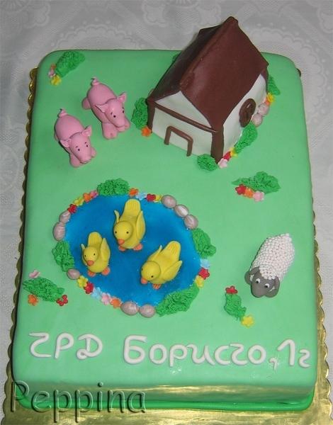 замечательные тортики девочки - 3
