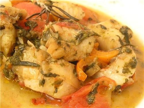 Рыбное рагу с овощами и щавелем - 2