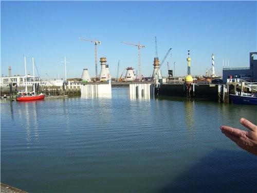 В один из выходных дней мы поехали к Северному морю в город Oostende