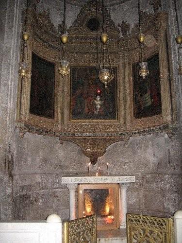 Свод Храма Икона Иерусалимской Божьей Матери Капелла Адама - 3