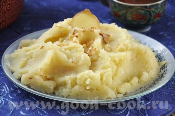пара постных рецептов, может кому пригодятся Картофельное пюре с имбирём и чесноком [b Зелёный сала...