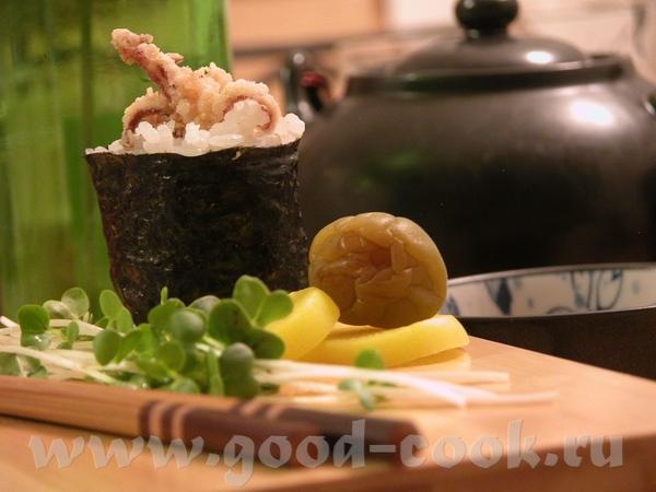 Итак, открывает ету темку Ни коим образом не хочу назвать себя знатоком японской кухни - 4