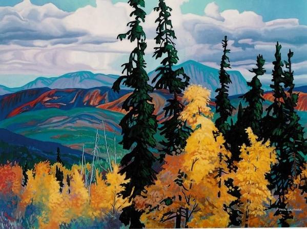 Какое многоцветие, здорово смотрится, красотища- мне очень понравилось Красота от Terry Grundy Pau... - 7