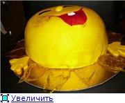 торт зеленая машинка торт солнышко с карамельными лучиками торт с юбилеем - 6