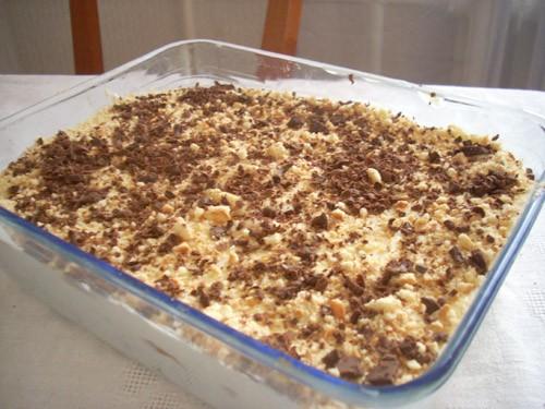 на десерт я решила приготовить что-то быстрое, кремово-фруктовое и без выпечки