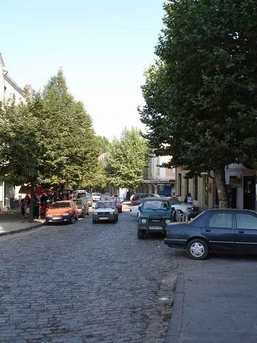 А вот это - улица Леселидзе