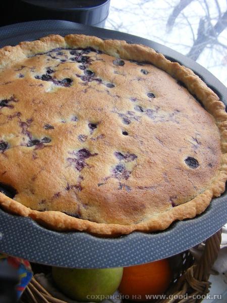 А у нас сегодня Финский черничный пирог