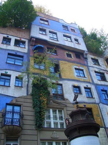 Хочу показать здание под названием Хундертвассерхаус - 2