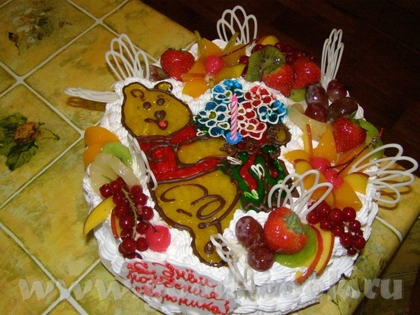 Девочки, сижу плачу делала дня торт, пол ночи рисовала корову, а мне заказчица привезла торт обратн...