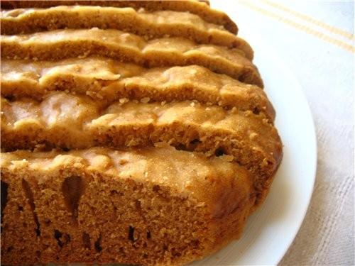Вкусный Пряный кекс с лимонной глазурью рецепт Виты-