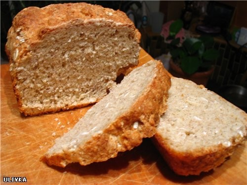 Это мой завтрак: рулет из индейки, очень нежно и удивительно сочно вышло и творожный хлебушек с зер... - 3