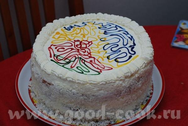 Инна, несу тебе огромное спасибо за торт клубничная ПИНА КОЛАДА , восхитительный торт, очень вкусны... - 3