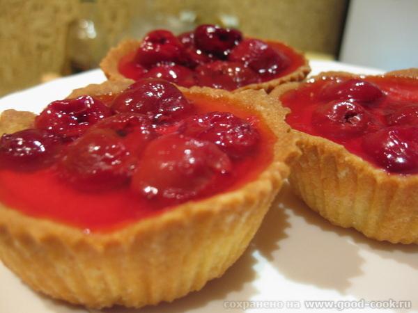 А на сладенькое у меня сегодня были вкуснющие Корзиночки с вишневым кремом от Кутовой Ирины Бесподо...