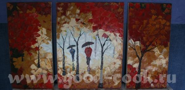 Еще цветочки мастихином Моя любимая картина - 3