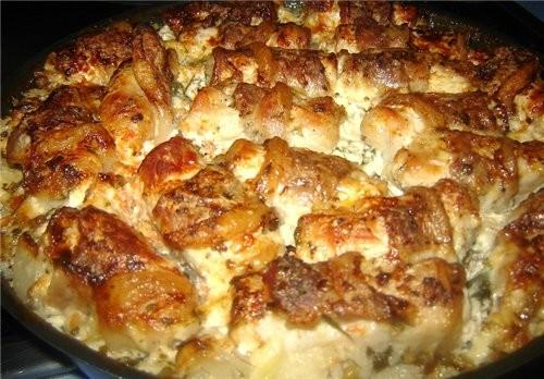 Баскская кухня Rollitas de lomo de cerdo asadas con nata Свиные рулетики запеченые в сливках Продук... - 7