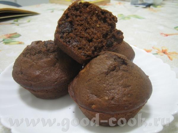 Mocha Muffins или Шоколадно-кофейные Маффины Оригинал , перевод мой
