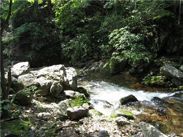 Вот так выглядит река, когда водопады все ближе и ближе