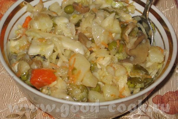 Винегрет на отдыхе 6-7 картошек 3 сол