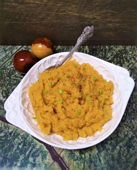Картофельно-тыквенное пюре