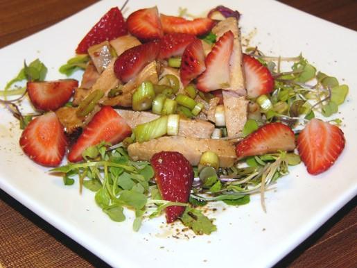 Приготовила на днях салат от Тани