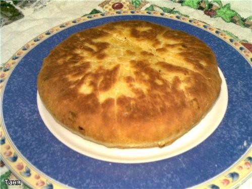 Лепешки с сыром и картошкой Для теста: стакан кефира 1 яйцо 60 г сл - 2