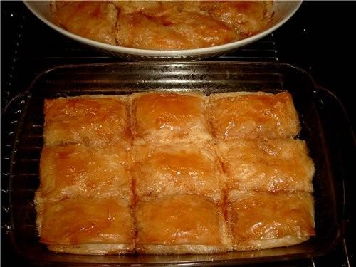 ПАШТЕТ С ВАНИЛЬНЫМ КРЕМОМ - PASTETE MIT VANILLECREME – GALAKTOBOURIKO Греческое блюдо