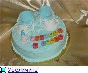 торт Скуби-Ду торт голубые кроссовочки с малышом торт поляна лилий - 4