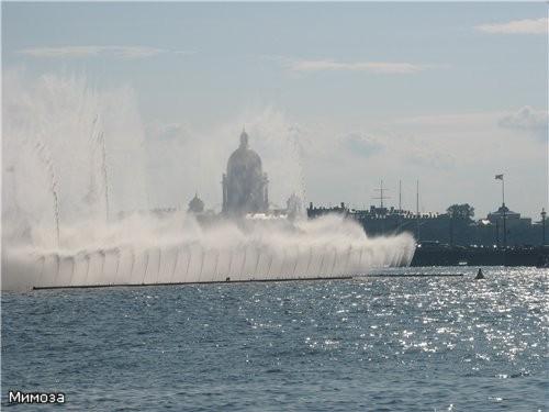 Еще один вид на фонтан