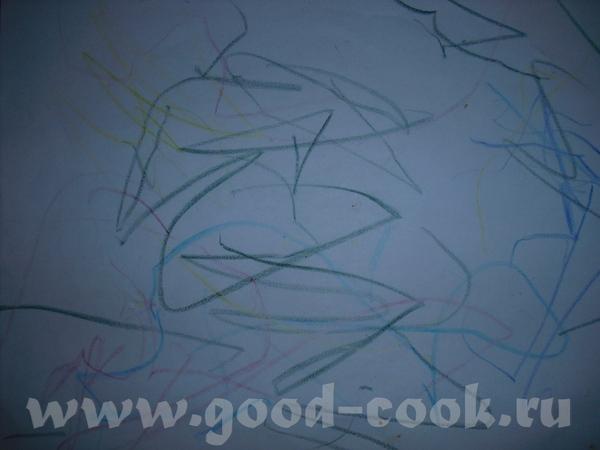 """... И так)) Тема: """"Учимся рисовать"""" поглотила не только взрослое население, но и наших малышей. Кот... - 3"""