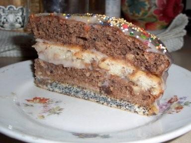 """Принесла спасибо за тортик """"Черный принц""""-вкуснота неописуемая-все что я люблю и орехи и мак - 3"""