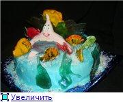 торт губка Боб торт планета - 3