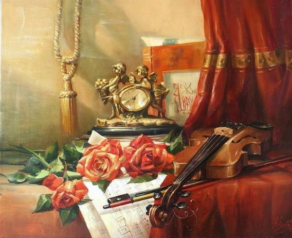 скрипка - вообще необычный инструмент - 2