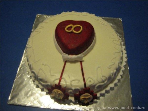 фотография вишла ужасно,торт беленкий на самом деле