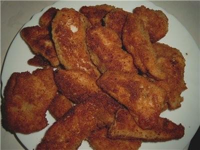 Делала детям Chicken Nuggets