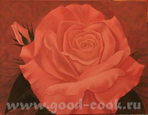 Вчера закончила по мастер-классу от розу(Отдельное ей спасибо за такой титанический труд