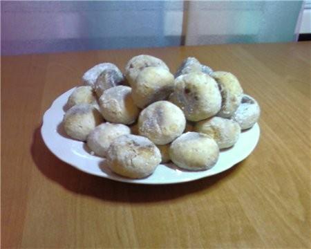 Вот такое Мексиканское печенье от Аун я приготовила моей семье Всем очень понравилось