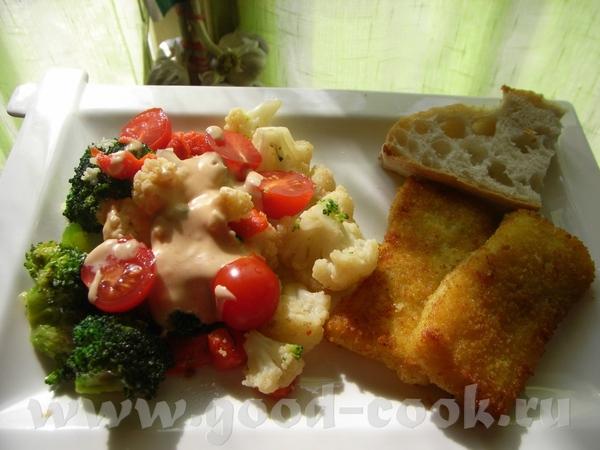 Несу спасибки alisia за вкуснейшее блюдо Салат-гарнир из двух видов капусты