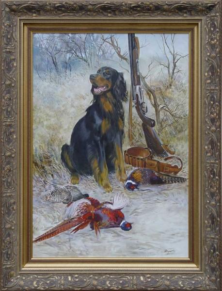 и вот тут еще есть типа этого и вот у этого художника несколько картин об охоте