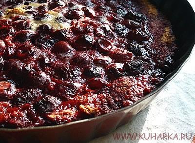 Вишневый пирог от Olja автор фото Emerald